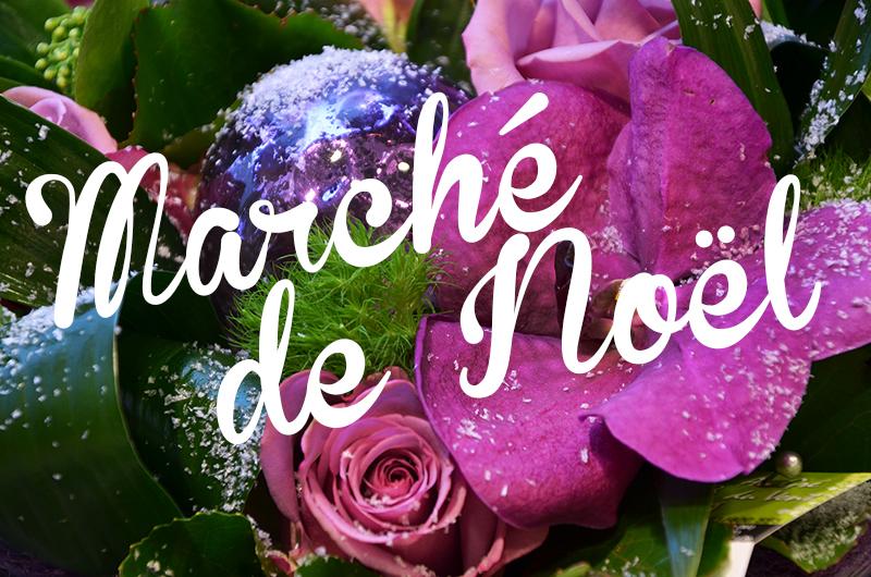 Marché de Noël-Fleuriste Gembloux