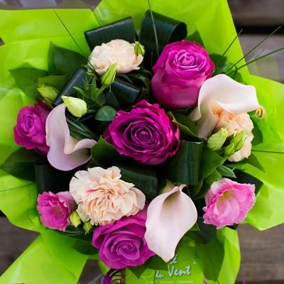 Bouquet fushia