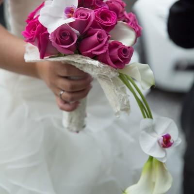 bouquet mariage arome