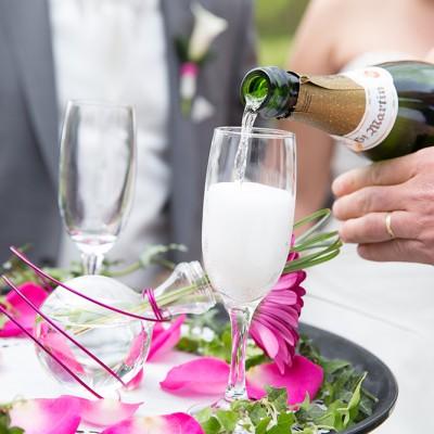 Plateau pétale mariage
