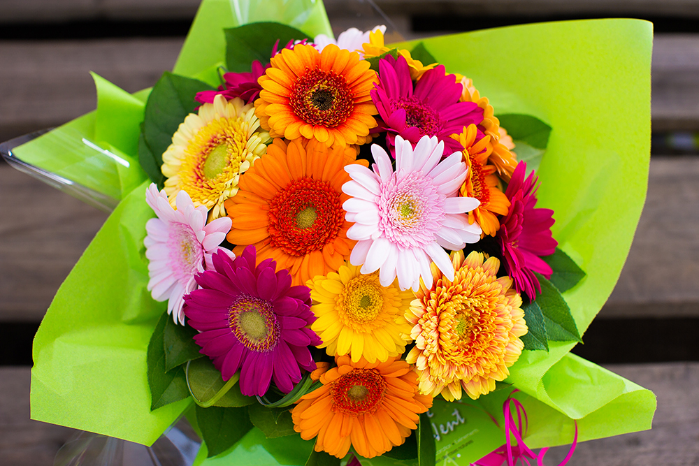 Bouquet coloré
