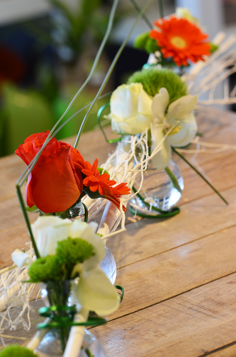 Déco table orange