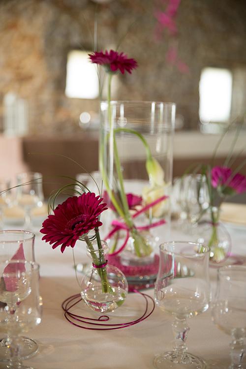 Fleuriste Mariage-Achat Pétale-Décoration de table